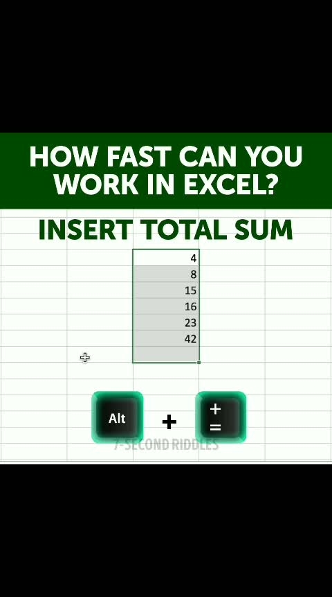 shortcut key in Excel #computer  #gktricks  #gktoday  #gknotes #shortcut