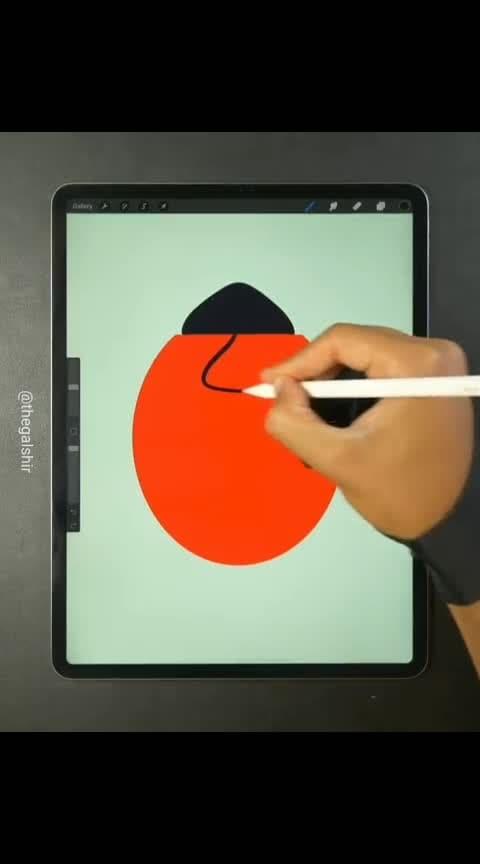 #digitalart #ipadart #procreate #awesome-art