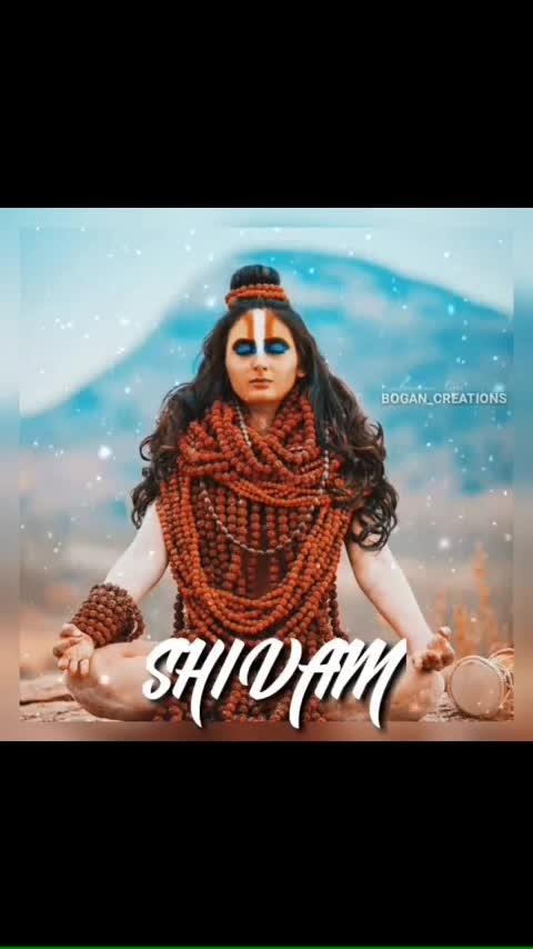 #shivam #sivan #god #roposo-god
