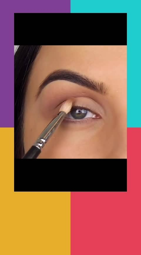 Beautiful eye makeup step by step