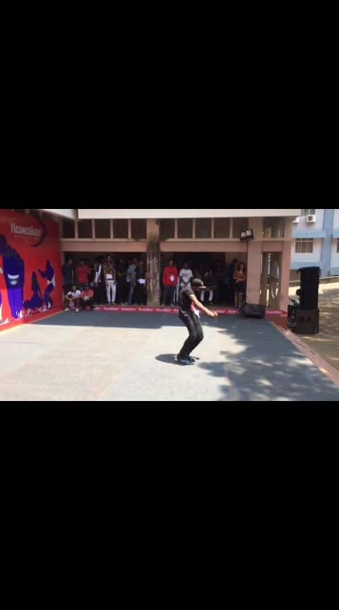 First time krumping in front of an audience