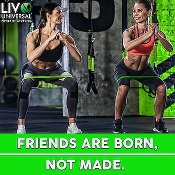 Friends are Born, Not Made..... #fitnesssupplements #bodybuilder #girlboss #bodybuilding #bodybuildingmotivation #fitnessphysique #ropo-fitness   Visit: https://www.livouniversal.com/ We help you meet your daily nutrition requirements- whether you want to Gain Muscle or Lose Weight or are just want to eat healthy. Our ayurvedic herbal products and nutrient components are selected with care maintaining highest quality.