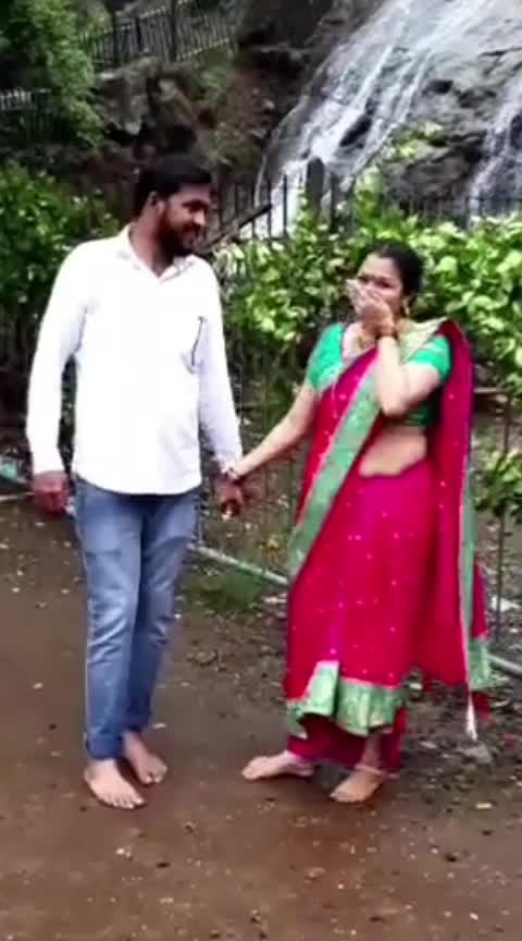 pavsachi rimzim thabali re tuzi mazi jodi jamali re 😍#memarathi #lohot15payal aai yekveera mauli