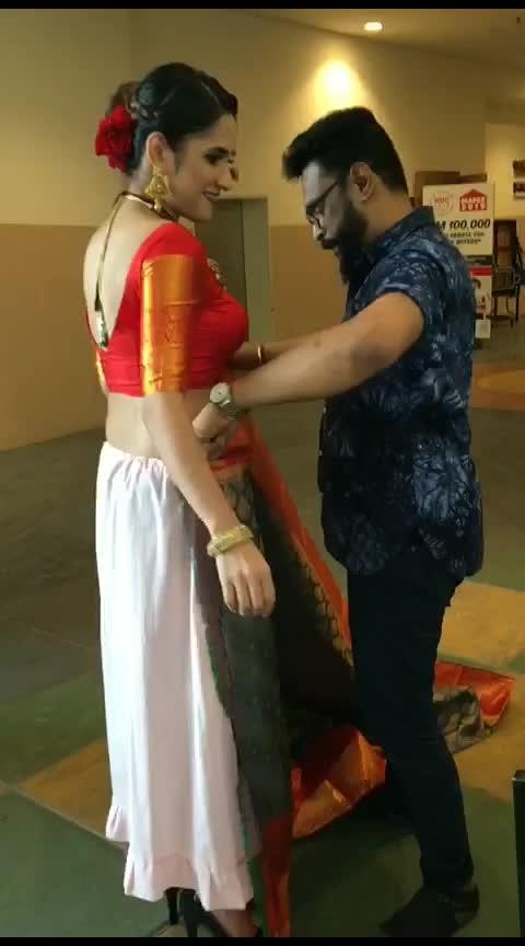 #designer-saree #saree-navel #sexy-saree