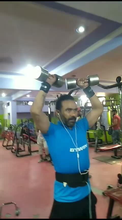 शोल्डर को मजबूत करे । #shoulderworkout #fitnessmotivation #leanbody #workhardplayharder #gym #gabru