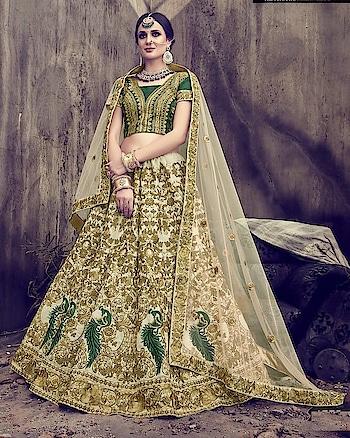 Get this #BridalLehengaCholi in least cost with fastest international shipping in USA, UK, France, Australia, Canada etc. To get online #WeddingLehengas visit a website : https://www.mirraw.com/lehengas/bridal-lehenga