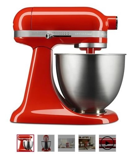 Summer Bonanza Offer on KitchenAid Artisan Mini  Get KitchenAid Artisan Mini Stand Mixer(Hot Sauce) at just Rs. 25,999/- down from Rs. 32,000/-. Shop Now!  Shop from Here: https://www.kitchenaid.in/countertop-appliances/stand-mixers/tilt-head-stand-mixers/p.artisan-mini.5ksm3311xbht.html  #KitchenAidIndia #Offers #Discounts #SummerBonanza