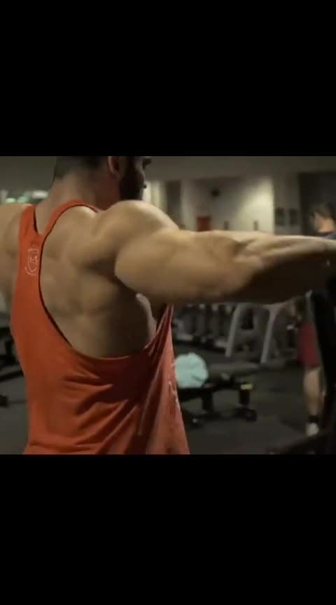 Nothing  In possible #bodybuilder#nothingisimpossible #-----roposo #roposoness