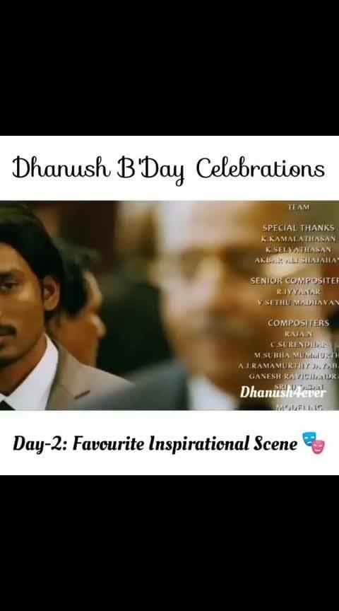 Day-2: Favourite Inspirational Scene 🎭 Accept The Rejection, Say Thanks & Move On 👉 Something Better Is Waiting For You 🎖️🏆 .  Keep Support ☺️ -  Stay Tuned 🤗 @dhanush4ever #SpreadLove ❤️ .  #asuran #dhanush #dhanushkraja  #tamilcinema #thalaajith  #saipallavi #kollywood #kollywoodcinema  #tamil  #tamilcinema  #instagood #sivakarthikeyan #Thalapathy #Vijay #nayanthara  #musically  #rajinikanth  #actor #kollywood  #samantharuthprabhu #shruthihaasan #RowdyBaby #anirudh  #thalapathyvijay #ajith #saipallavi #dhanush4ever