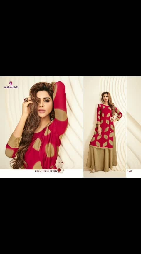 *Arihant NX* Presents  Hit Kurti Series  Catalogue Name:- *PALCHU VOL-6(8 Pcs)* *(D.NO.1049 TO 1056)* *Fabrics Details:-* Top:= Reyon 14KG  *Size- L-40 XL-42 XXL-44* Des.Total:-8⃣Pcs    Arihant PALCHU Vol-6 Singles Price List *D.no.*  *Rate* 1049 - 1100/- 1050 - 1100/- 1051 - 1000/- 1052 - 1000/- 1053 -  950/- 1054 - 1000/- 1055 -  900/- 1056 - 1100/- *Only Shipping Extra*   Dispatching On:=Next Week  Mo TS1.5