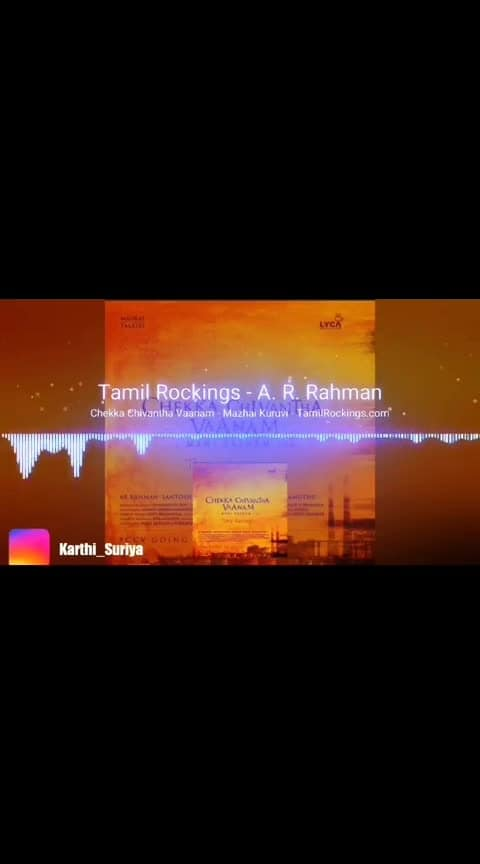 #mazhaikuruvi #chekkachevanthavaanam #arrahman #arrahmanhits #beats #roposobeats #tamilsong #lyriclove #simbu #arunvijay #manirathnam #editing #viralvideo #trendinglive