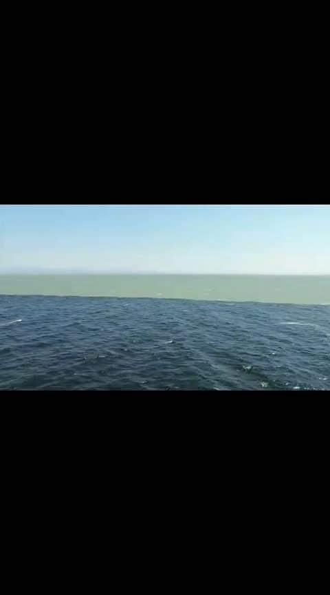 Meeting Point Of Atlantic & Pacific Ocean..! 👌🙌😍❤️❤️❤️
