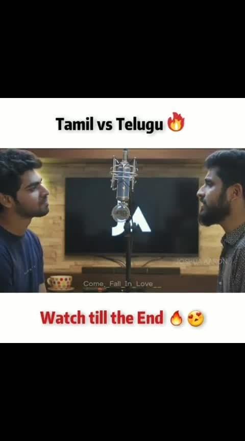 Tamil vsTelugu ~#songslover