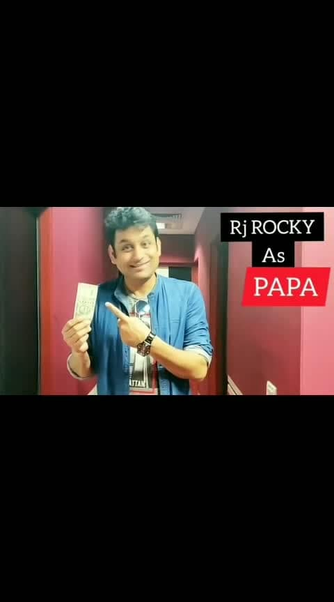 "Baap bada na bhaiya sabse bada rupaiya ""check dis out"" Happy Father's Day #vellarocky #happyfathersday #vellapanti #vellarocky #redfm #bajaateraho😂😂😂😜😜😜😛😛😛😜😜😂😂 video - @vivek.rawat.9026 #gabru #punjabi-gabru #star #wow #baap_baap_hota_h #baap  Rey  #baap #roposo-funny-comedy #funny"