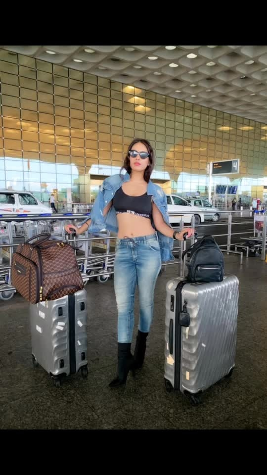 Off to LONDON 🇬🇧 Via ABU DHABI For shoot ♥️♥️ Wish me luck guys.. need your love ,support and blessings .. 🙏 : #london #travelling #londoncalling #uk #travelgram #travelinstyle #denim #denimondenim #denimjacket #dieseljeans #airportoutfit #airportstyle #airportfashion #airportlook #travelphotography #airportphotography #luxurylifestyle #nehamalik #model #actor #blogger #instantpollywood #instantbollywood