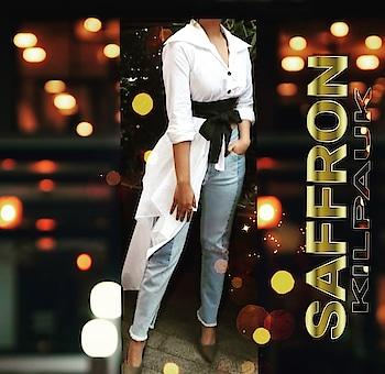 Find the latest trends @Saffron....  #tops #dresses #tunics #kurtis #gowns #palazzos #denims #skirts #hotshorts #accessories #xstoplussize  www.facebook.com/saffronchennai