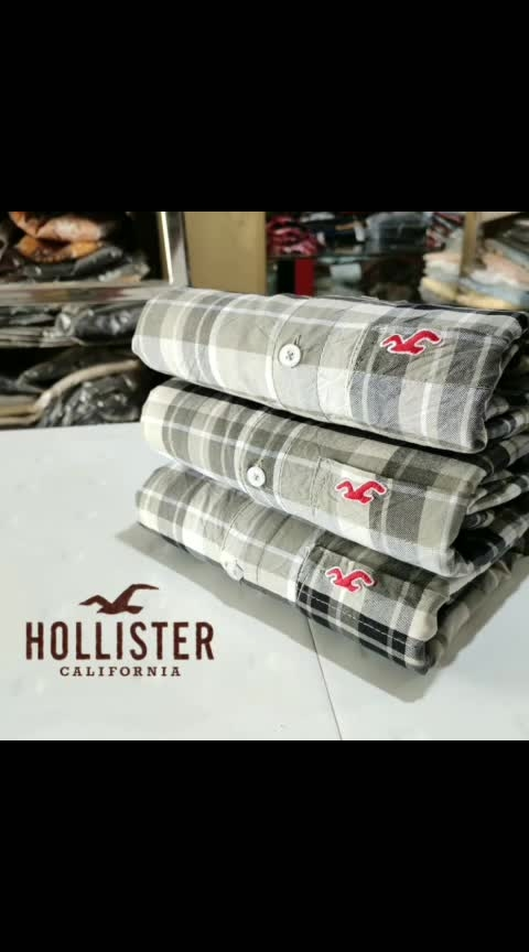 please whatup on 09785674081  *🥰 Holister shirt🥰*  *🥰🥰Full sleeve Shirt🥰🥰*  *💞100‰ cotton💞*  *Quality 😍Matters 👍*  *Size M-38  l-40  xl-42*///  *Price @399 Rs free ship*    *We Take 100% Gurantee About Quality* 🎉🎉🎉🎉🎉🎉🎉  *Aasam.port blyer. Ship 40 rs extra* *Speed post 30 rs extra*   *😍😍😍😍😍😍*