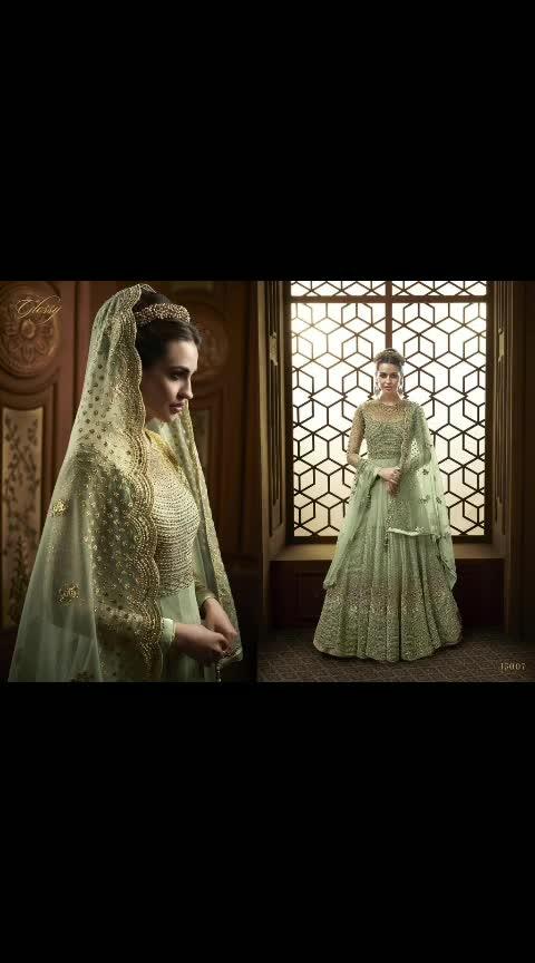Glossy 15007 @kfhub 🔗All Store link in BOI🛒🛒🛒. . 😇 Yay' or 😕 'Nay'...?? . Leave your Comments💗 and emojis💭💭💭 . Also give rating(1➡10)😍😍😍😍😍😍😍😍😍😍 . Tag your Frds in Comments👫👬👭👨👨👧💑  Fabric Detail : . Top :- Net  Sleeve :- Net  Inner :-  Santoon Bottom :- Santoon Dupatta :-  Net Top Length :- Max up to 54+ Size :- Max up to 46 Weight :- 1.3 Kg #pakistanistyle  #pakistanidress  #indiandress  #pakistanistreetstyle  #ootd  #pakistani  #desi  #desicouture  #delhifashion  #bengali  #anarkali  #salwarkameez  #zukreat  #saree  #punjabi  #asianbride  #london  #indian  #birmingham  #uk  #usa  #england  #unitedkingdom  #lehenga  #anarkalidress  #anarkalilove  #anarkalisuit  #partywear  #weddingwear  #weddingdress