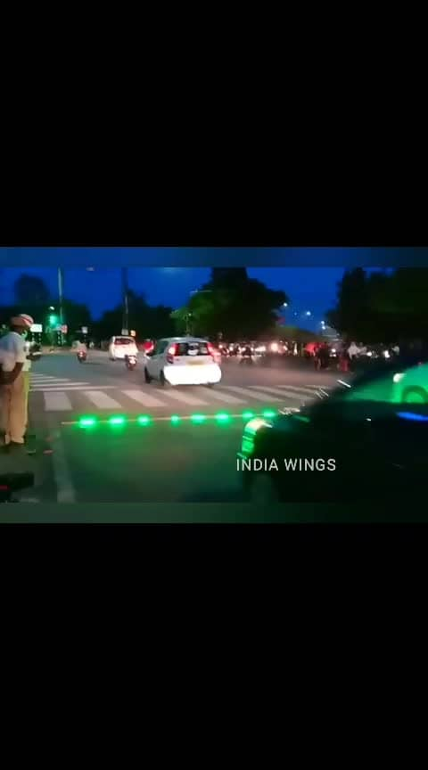 Hyderabad new radium traffic signals