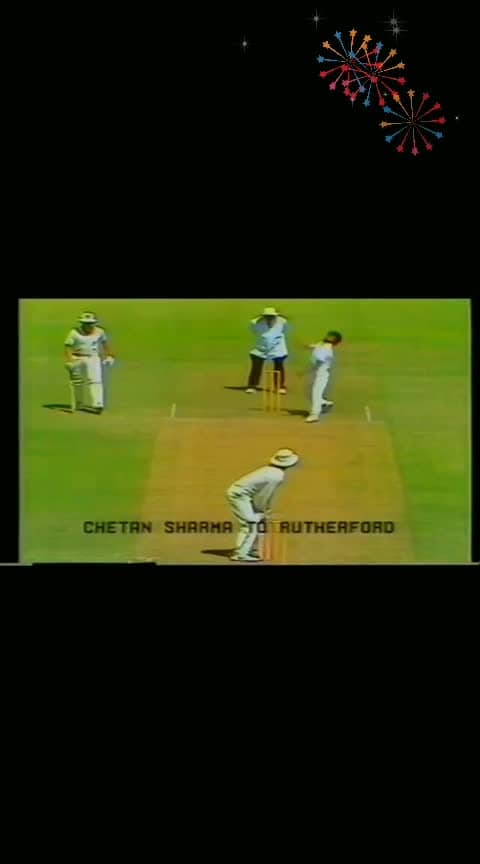 #1st-hattrick-in-WC-by-chetan-sharma