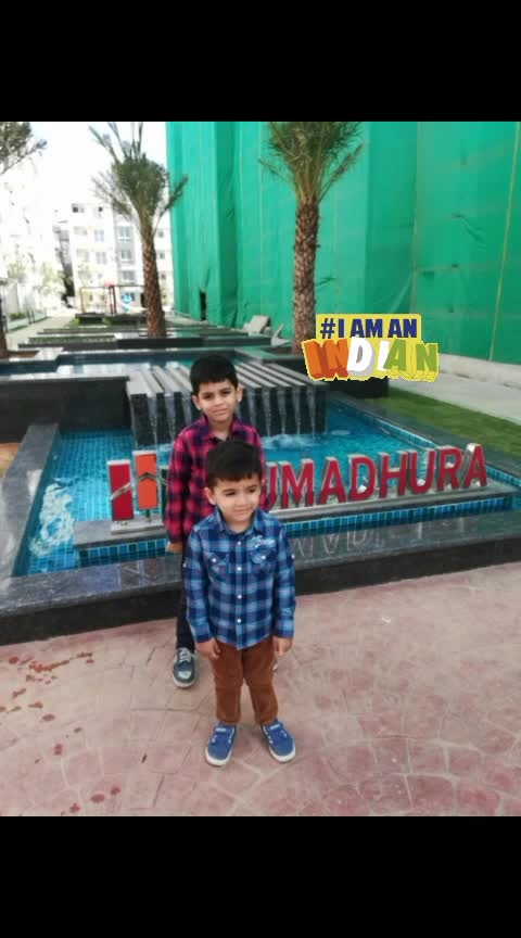 Farhan and abaan in whitefield