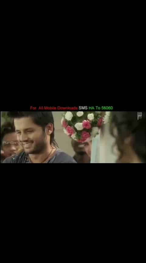 #nithin #adahsharma #heartattack #emotionalsong #selavanuko #videosong #whatsapp-status
