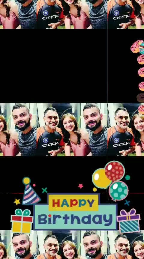 #happy_birthday_ mahi