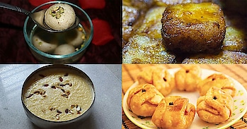 8 Bengali Sweetmeats To Begin Poila Boishakh On A Sweet Note  The City of Joy is renowned for its delicious sweets like Rosogolla and Mishti Doi. Even those people who do not have a sweet tooth end up being tempted to dig into the quintessential Bangla sweet dish. Today is the Bengali New Year also known as Nabo Borsho or Poila Boishakh. Bengalis all over the world not only wish each other but also eat, drink and make merry.  It's time to welcome the Bengali New Year! Ektu mishti mukh hoye jak? Here are 8 Bengali sweetmeats to begin Poila Boishakh on a sweet note: 1. Sita Bhog Also known as 'sweetened rice', it was believed to be the favourite sweet dish of Lord Rama's wife, Sita. The Sita Bhog is made up of chhana (cottage cheese) and powdered rice (sweet rice vermicelli); fried in ghee and soaked in sugar syrup. The colour of the rice is yellow or white and some miniature Gulab Jamuns are also added to it. 2. Payesh/Bengali Kheer This is simple! You need milk, sugar and rice to prepare it. Just need to stir continuously; requires some amount of effort. Also, if you have stored some Nolen Gur (Jaggery) in your fridge since winter, you can add it to your Payesh. One of the best and most auspicious ways to welcome the Bengali New Year! 3. Darbesh Boondi Laddoos made in Bong style are called Darbesh. In fact, they are even tastier than the conventional motichur or boondi laddoos. One is certainly not enough!  4. Chhanar JilipiMade up of paneer, khoya and maida, the Chhanar Jilipi will tantalize your taste buds to a great extent. So soft and juicy that its sweetness is sure to make your day! 5. Lobongo Latika It consists of a number of ingredients like maida, khoya, nutmeg powder, coconut (grated), ghee, nuts, raisins, cardamom and sugar, but the amazing highlight of this sweet is the way in which it is artistically folded into the shape of a little envelope, and sealed into a clove. And it tastes awesome!!! Hmm.. Is your mouth already watering? Then get ready to welcome the Bengali New Year on an absolutely sweet note.  Which is your favourite Bangali mishti? Let us know in the comments section below. #ropo #roponess #ropo-post #ropo-ropo #ropo-styles #ropo-msti #ropoing #bengaliyoutuber #bangali #bengali-culture #indianculturestyle #bengalinewyear #