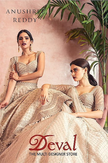 Something very special is coming for Brides and Bridesmaids at Deval The Multi Designer Store!  Mark your calendar for GRAND BRIDAL PREVIEW by Anushree Reddy exclusively at Deval The Multi Designer Store on 10-11 July 2019. #devalstore #ahmedabad #designerwear #designercollection #latestcollection #bridalwear #weddingwear #multidesignerstore #anushreereddy #designerstore #womensclothing #bridalpreview #designeroutfit #wedding