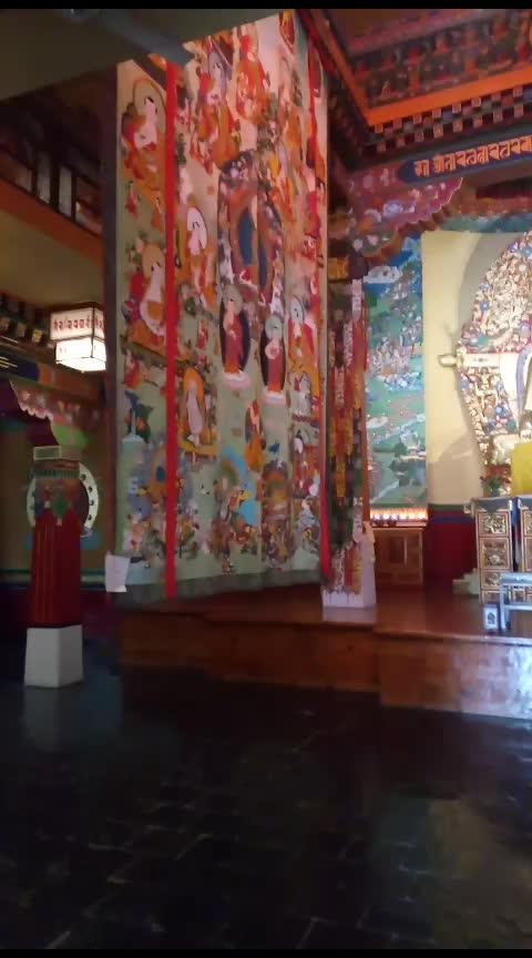 Norbulingka Institute Dharamshala #norbulingka #dharamshala #dharamshaladiaries #dharamshaalatrip #dharamshalatravel #travelling #travel #travel-diaries #travel-love #wanderlust-traveller #travelonroposo #travelblog #travelblogger #dailypost #followmeonroposo