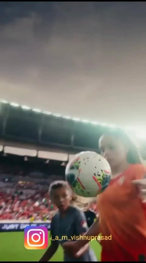 Queen of football❤⚽️ @liekemartens @footballqueen #football #queenoffootball #roposo-sport #vengamavan #semma-bgm #footballplayer #nike