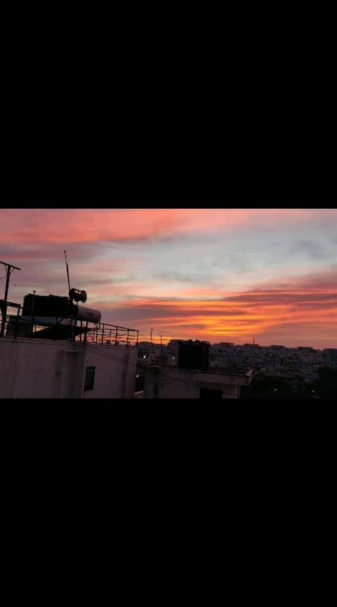 #bangaloreblogger #sunset