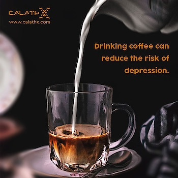 Drinking #coffee can reduce the risk of #depression  www.calathx.com  #healthdrink #healthydrink #fitfamlagos #healthyliving #healthyeating #healthybody #fitness #healthylifestyle #fitnessmotivation #bhfyp #beautime #life #beauty #inspiration #instafit #healthyskin #facts #didyoyknow #TuesdayThoughts #TuesdayMotivation #health #healthy #wellness #gym #workout #fit #lifestyle