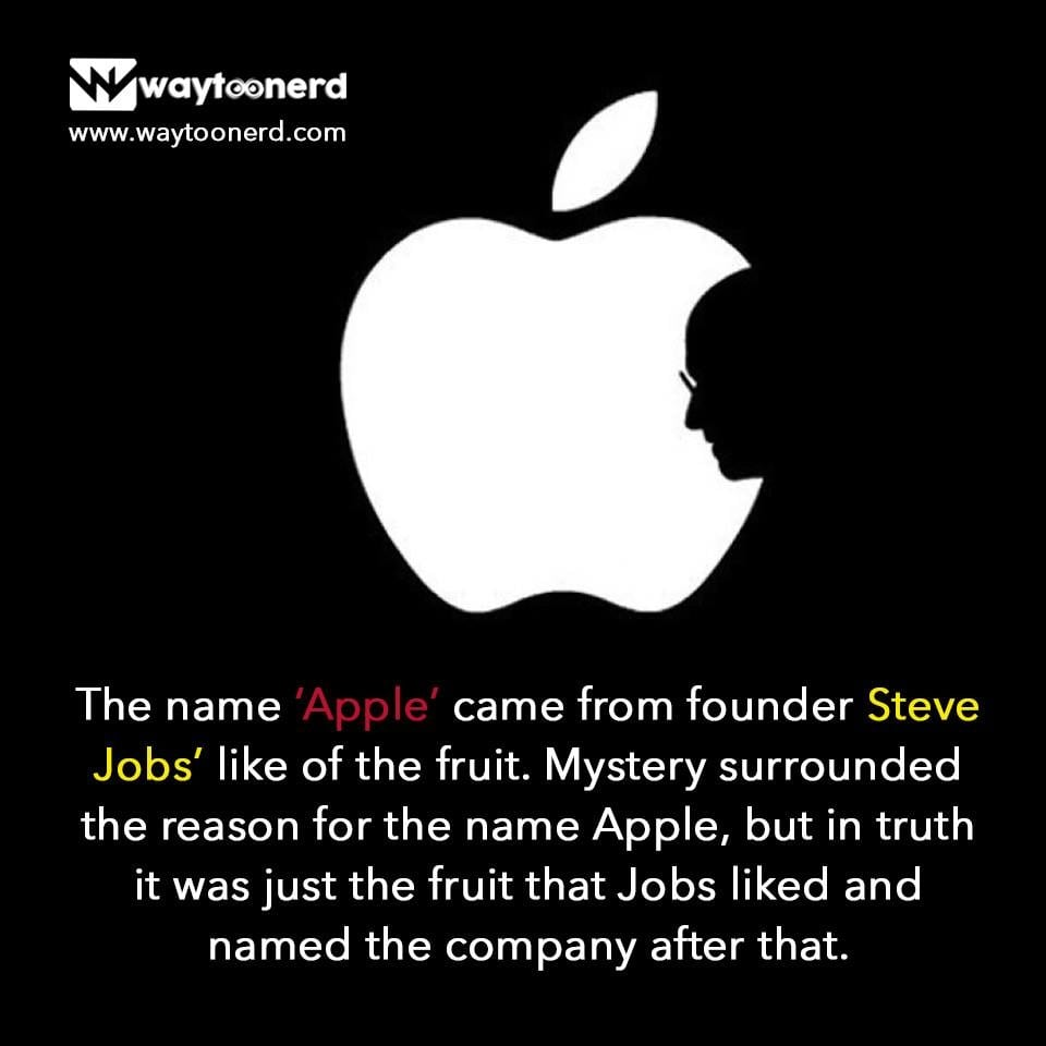 #facts about #apple  www.waytoonerd.com  #technology #tech #software #computer #gadgets #follow #android #instatech #technews #dailyfact #didyouknowfacts #quotes #funfacts #true #doyouknow #motivation #awesome #quote #factsonly #iphone #iphonex #ios #applewatch #ipad #macbook #iphonexsmax Fitness First India
