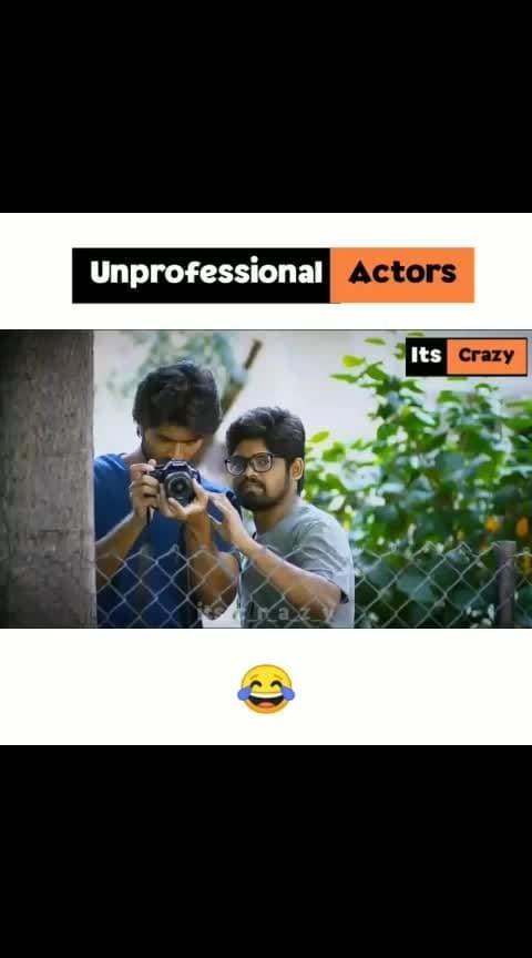 #unprofessional actor$