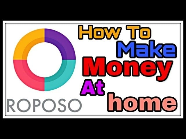 howto make money in #roposo