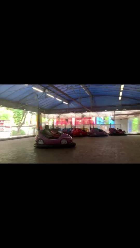 Masti at essel world .... #car #drive #go #risingstar #roposo #beauty #girls