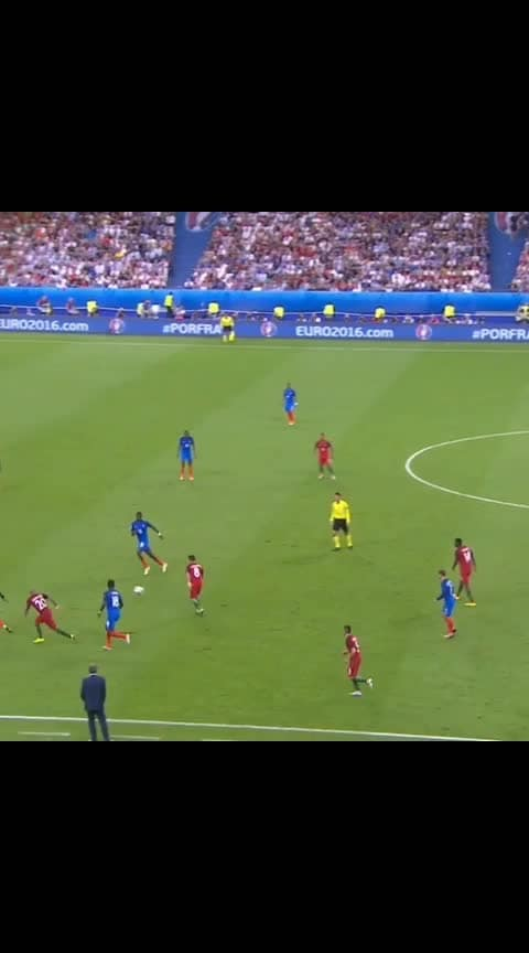 Portugal vs France final match goal