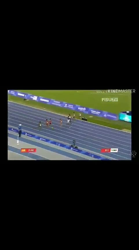 dutte chand win gold in 100m event