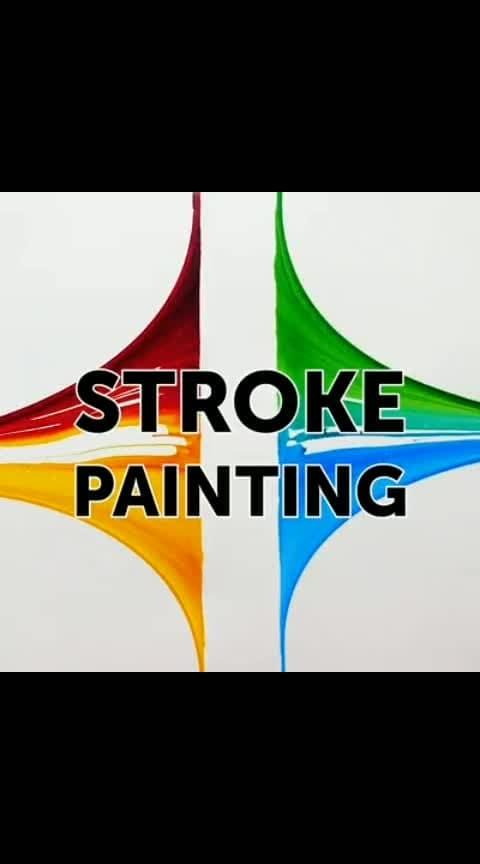 #stroke painting