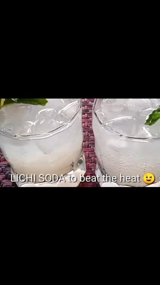 गर्मी में राहत दे लिच्ची SODA/Lychee Soda Drink Recipe/Litchi Drink Recipe/Lychee Soda/Summer Drink/How to make soda at home/Kadians Kitchen  #litchisodada #lycheesoda #drink #soda #lychee #lycheejuice #litchi #drinks #summerrefreshingdrink #kadianskitchen #kadianKitchen #kadian'skitchen  https://youtu.be/rzqRlJeepEE