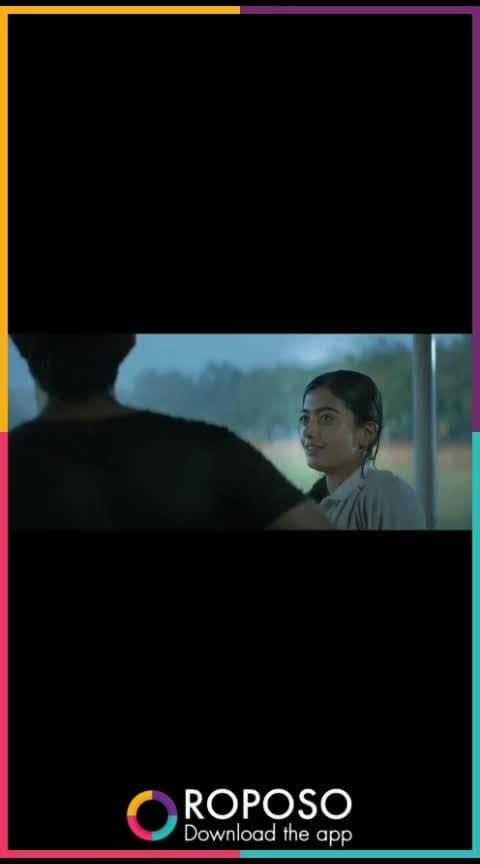 😍❤#Dear comrade theatrical trailer..... #Vijay deverakonda #Ra shmika manana😍❤