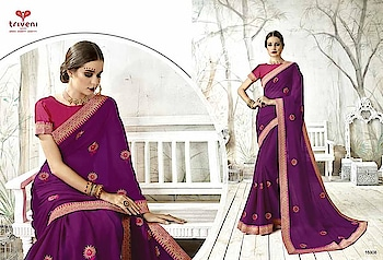 MAHIKAA COLLECTIONS LAUNCHES online selling of WOMEN FABRICS. please click on picture or our online link below or BUY DIRECTLY FROM US USING PAYTM / BANK TRANSFER CONNECT WITH US AT info@mahikaa.in or whatsapp : 7984456745  REVATI BY TRIVENI CHIFFON EMBROIDERED SAREE  RATE : 1559 INR -+$ #business #innovation sales #health #fintech #amazon #mondaymotivation #wellness #news #engineering #banking #newyork #smartcities #gifts #credit #fridayfeeling #r #r #emotionalintelligence #protection #cash #engineers #engineers #publishing #electronics #reviews