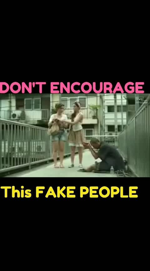 #don't_encourage_fake_people 👍