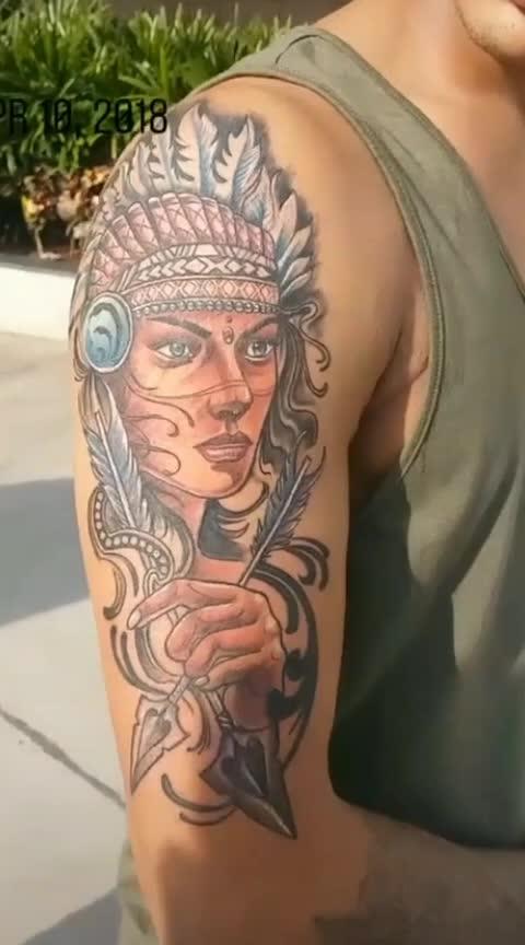 😯#wow-nice #amazing-art #tattoo 👌🙏👍