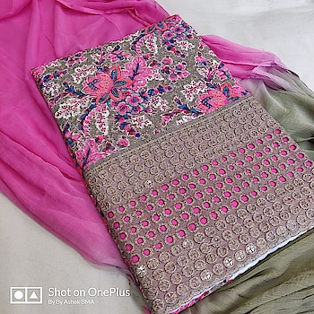 MAHIKAA COLLECTIONS LAUNCHES online selling of WOMEN FABRICS. Please click on picture or our online link below or BUY DIRECTLY FROM US USING PAYTM / BANK TRANSFER CONNECT WITH US AT info@mahikaa.in or WhatsApp : 7984456745  Kurta cotton digital print chicken embroidery with sequence work Cotton salwar fabric Duptta chiffon PRICE 1150 +$   #saree #sareelove #sarees #fashion #sareeblouse #indianwear #onlineshopping #love #sari #indianfashion #indianwedding #handloom #sareefashion #ethnicwear #indian #sareeindia #traditional #india #lehenga #silksaree #sareesofinstagram #wedding #styles #silk #indiansaree #style #silksarees #kanchipuram #designersaree