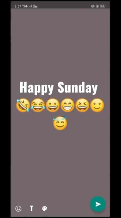 happy sunday #happy #sunday