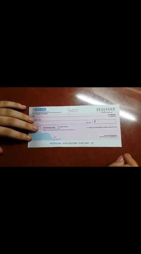 how to fill a cheque #howto