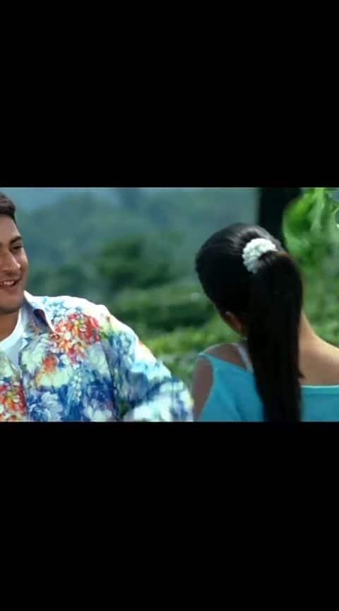 nice song from #athadu #movie #maheshbabu #trisha