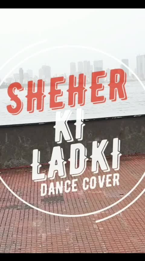 #sheherkiladki out on my #youtubechannel - DhruviShahDance #subscribemychannel  #watchnow #badshah #lovemumbai  #red #white